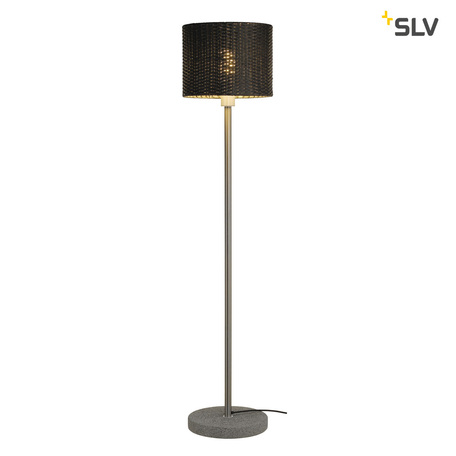 Садовый светильник SLV ADEGAN MANILA SL 1002494, IP44, 1xE27x24W, сталь, серый