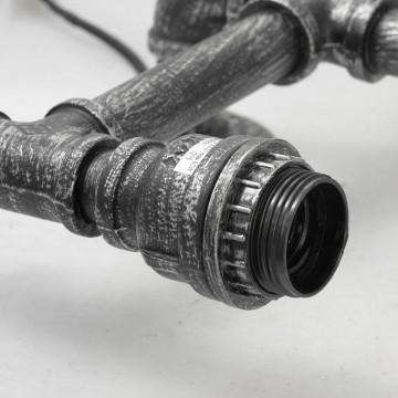 Бра Lussole Loft Irondequoit lsp-9192, IP21, 2xE27x60W, серый, металл - миниатюра 2