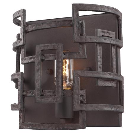 Настенный светильник Lussole Loft Eastchester LSP-9121, IP21, 1xE27x40W, коричневый, металл