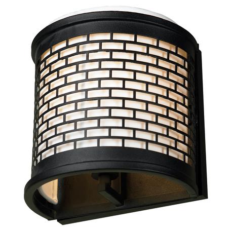 Настенный светильник Lussole Loft Levittown LSP-9171, IP21, 1xE14x40W, черный, металл, текстиль