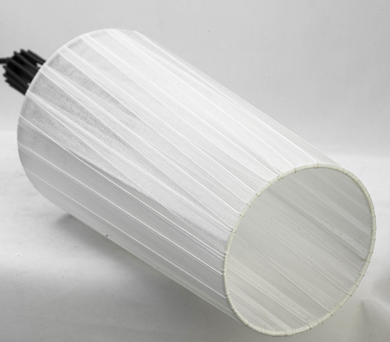 Подвесной светильник Lussole Loft Riardo lsn-5406-03, IP21, 3xE27x60W, черный, белый, металл, текстиль - фото 5