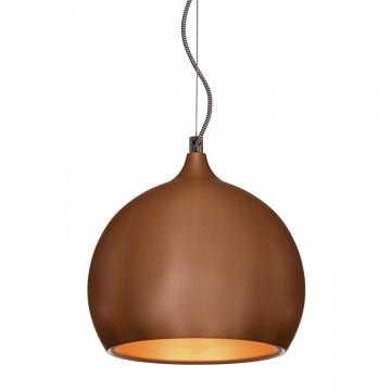 Подвесной светильник Lussole Loft Aosta LSN-6106-01, IP21, 1xE27x60W, медь, металл