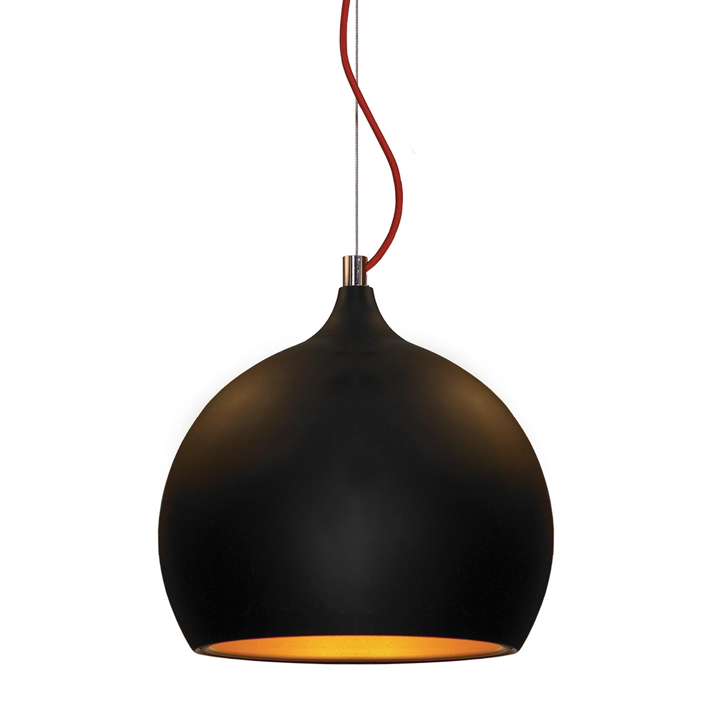 Подвесной светильник Lussole Loft Aosta LSN-6116-01, IP21, 1xE27x60W, черный, металл - фото 1