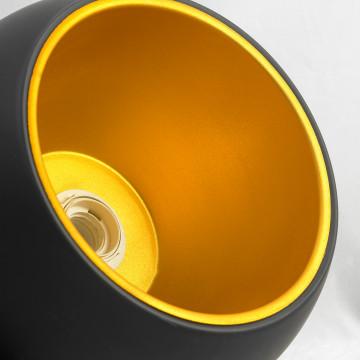 Подвесной светильник Lussole Loft Aosta LSN-6116-01, IP21, 1xE27x60W, черный, металл - миниатюра 3