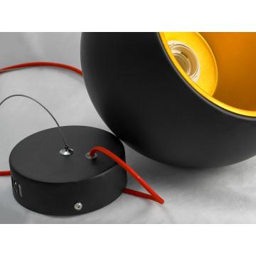 Подвесной светильник Lussole Loft Aosta LSN-6116-01, IP21, 1xE27x60W, черный, металл - миниатюра 4