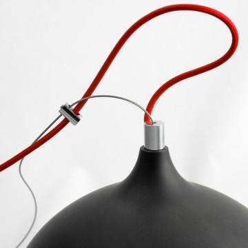 Подвесной светильник Lussole Loft Aosta LSN-6116-01, IP21, 1xE27x60W, черный, металл - миниатюра 5