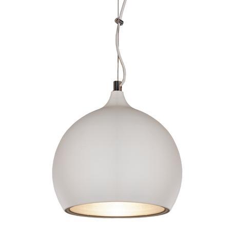 Подвесной светильник Lussole Loft Aosta LSN-6126-01, IP21, 1xE27x60W, белый, металл
