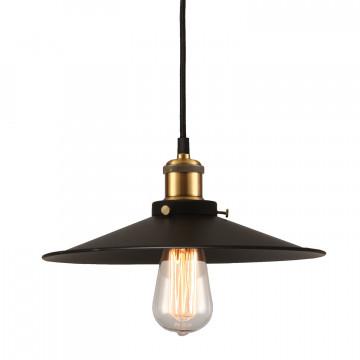 Подвесной светильник Lussole Loft New York LSP-9601, IP21, 1xE27x60W, черный, металл