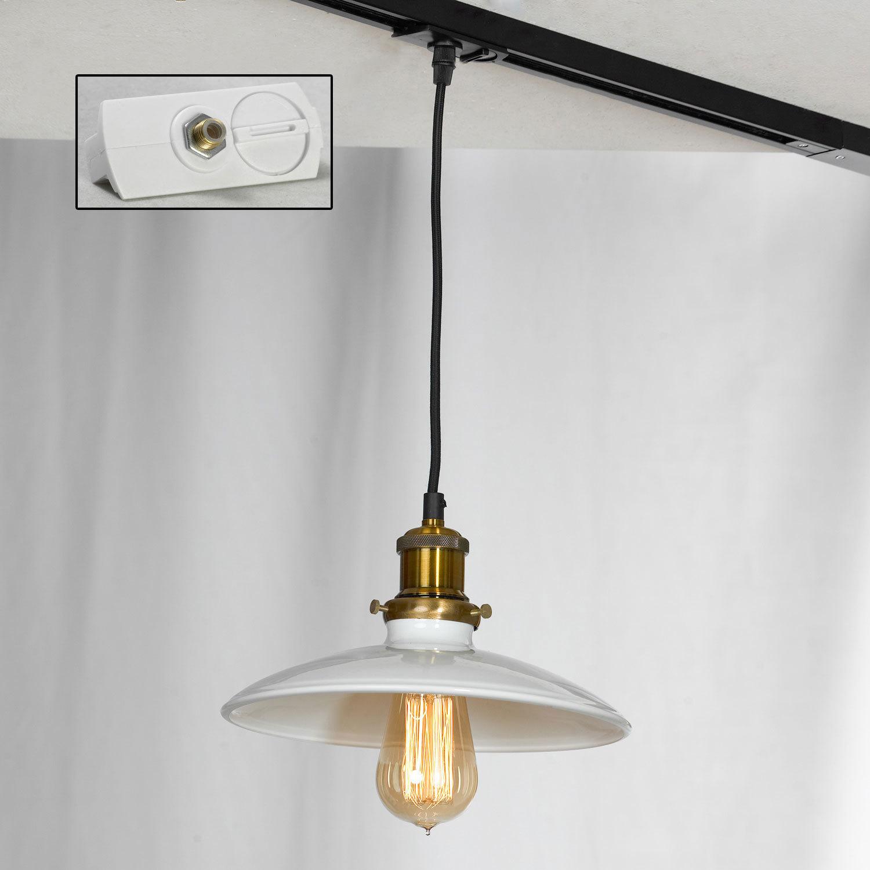 Подвесной светильник Lussole Loft Glen Cove LSP-9605, IP21, 1xE27x60W, черный, белый, металл - фото 3