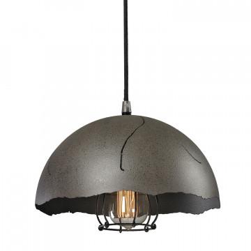 Подвесной светильник Lussole Loft Lockport LSP-9621, IP21, 1xE27x60W, черный, металл