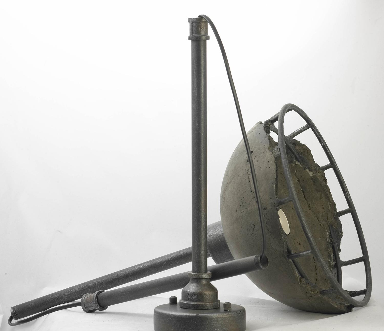 Подвесной светильник Lussole Loft Medford LSP-9642, IP21, 1xE27x60W, серый, металл, бетон - фото 3