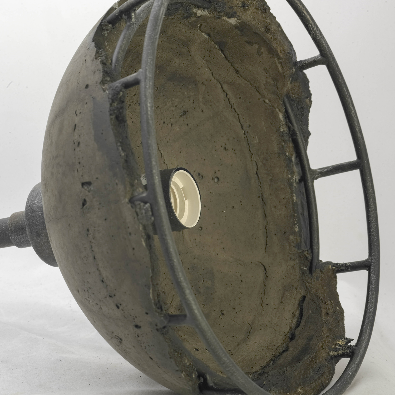 Подвесной светильник Lussole Loft Medford LSP-9642, IP21, 1xE27x60W, серый, металл, бетон - фото 4