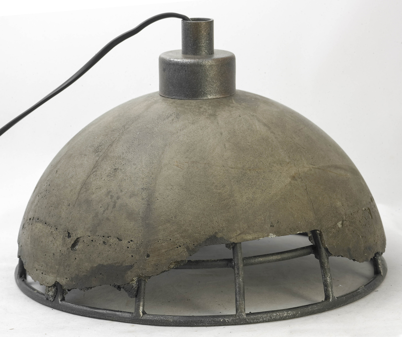 Подвесной светильник Lussole Loft Medford LSP-9642, IP21, 1xE27x60W, серый, металл, бетон - фото 5