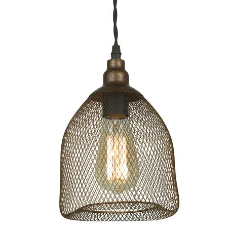 Подвесной светильник Lussole Loft Freeport LSP-9646, IP21, 1xE27x60W, коричневый, металл