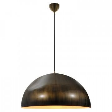 Подвесной светильник Lussole Loft Saratoga LSP-9653, IP21, 1xE27x60W, бронза, металл - миниатюра 2