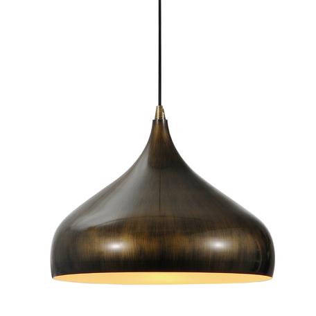 Подвесной светильник Lussole Loft Saratoga LSP-9655, IP21, 1xE27x60W, бронза, металл