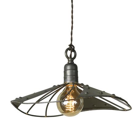 Подвесной светильник Lussole Loft Auburn LSP-9661, IP21, 1xE27x60W, коричневый, металл