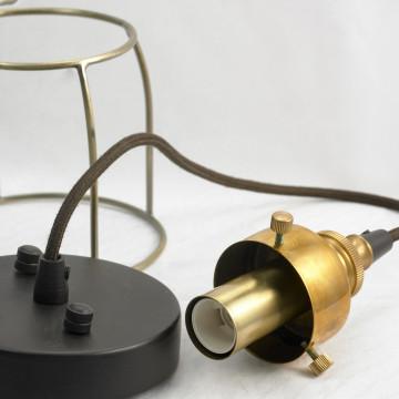 Подвесной светильник Lussole Loft Brighamton LSP-9677, IP21, 1xE14x40W, черный, прозрачный, металл, стекло - миниатюра 3
