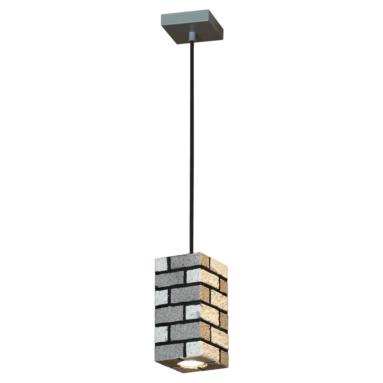 Подвесной светильник Lussole Loft Mount Vernon LSP-9684, IP21, 1xGU10x50W, серый, металл - фото 2