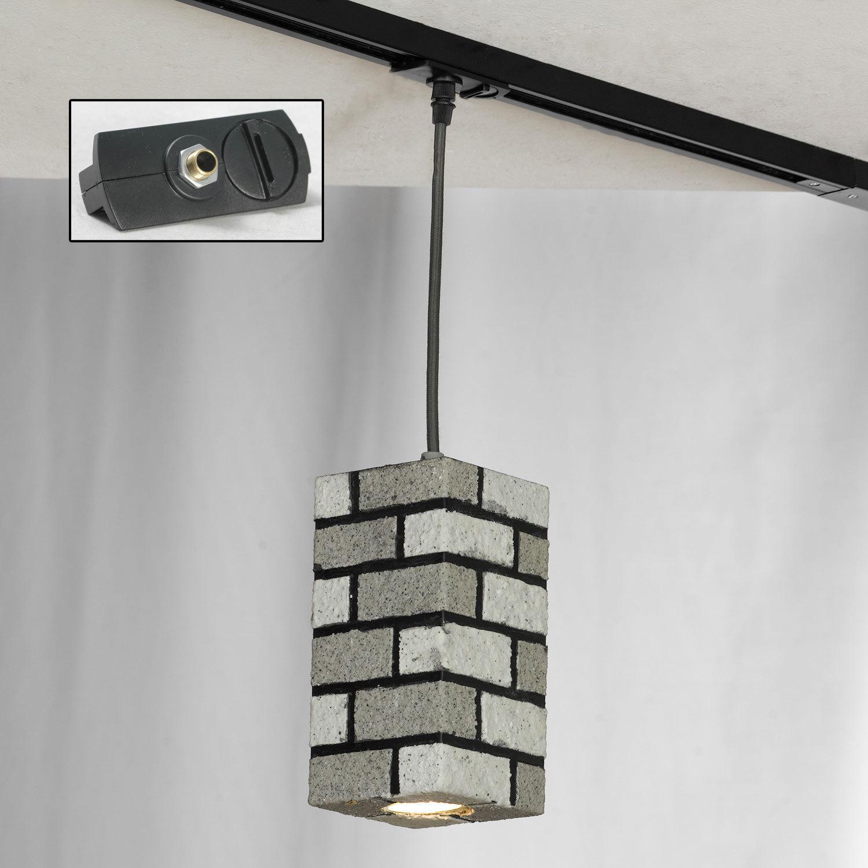 Подвесной светильник Lussole Loft Mount Vernon LSP-9684, IP21, 1xGU10x50W, серый, металл - фото 3
