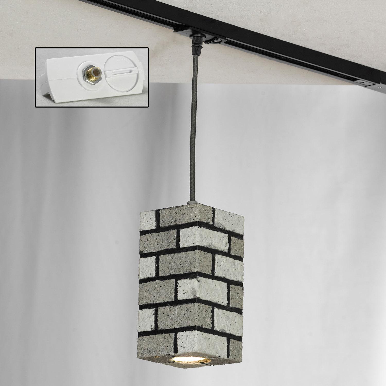 Подвесной светильник Lussole Loft Mount Vernon LSP-9684, IP21, 1xGU10x50W, серый, металл - фото 4