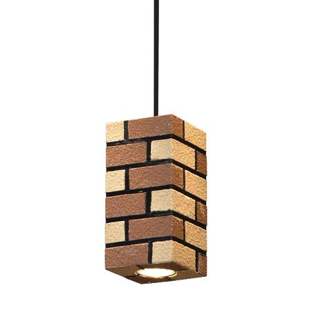 Подвесной светильник Lussole Loft Mount Vernon LSP-9685, IP21, 1xGU10x50W, черный, коричневый, металл