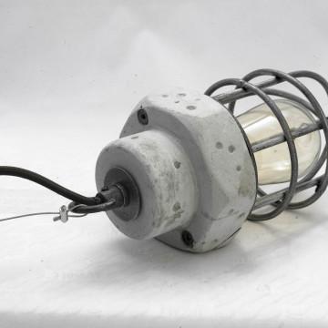 Подвесной светильник Lussole Loft Commack LSP-9691, IP21, 1xE27x60W, серый, металл, бетон - миниатюра 3