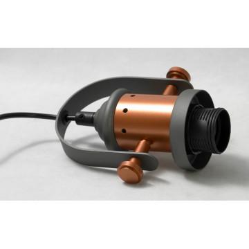 Подвесной светильник Lussole Loft Binghamton LSP-9845, IP21, 1xE27x60W, черный, белый, металл, стекло - миниатюра 6