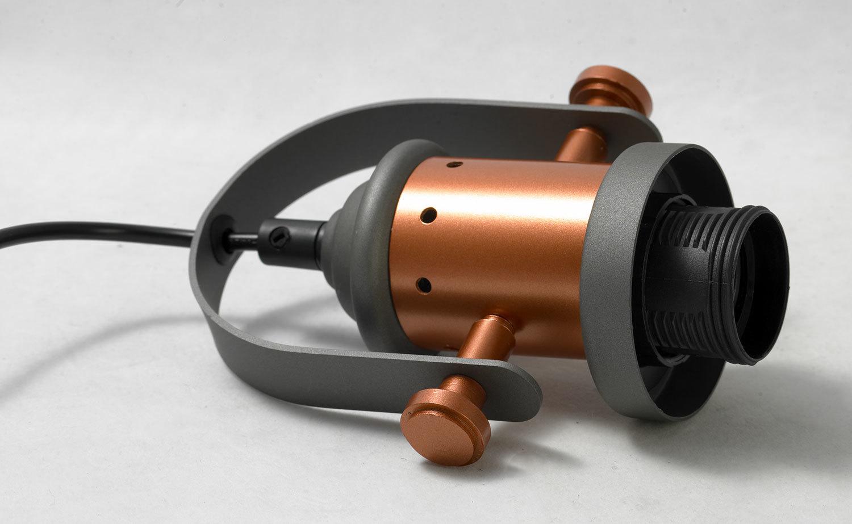 Подвесной светильник Lussole Loft Binghamton LSP-9845, IP21, 1xE27x60W, черный, белый, металл, стекло - фото 6
