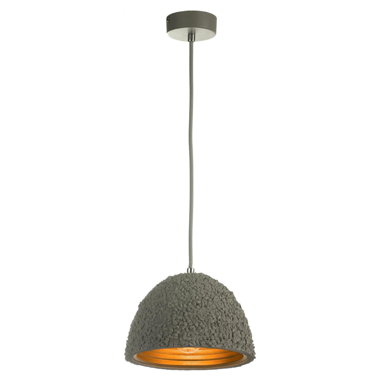 Подвесной светильник Lussole Loft Lindenhurst LSP-9855, IP21, 1xE27x60W, серый, металл, бетон - фото 2
