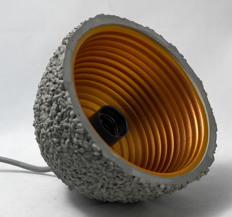 Подвесной светильник Lussole Loft Lindenhurst LSP-9855, IP21, 1xE27x60W, серый, металл, бетон - фото 3