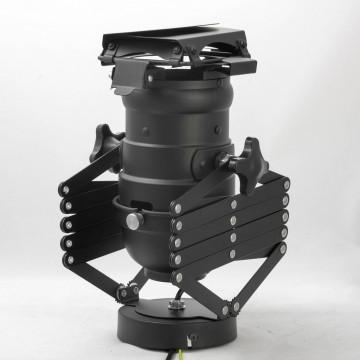 Потолочный светильник с регулировкой направления света на складной штанге Lussole Loft Thornton LSP-9702, IP21, 1xE27x60W, черный, металл - миниатюра 3