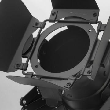 Потолочный светильник с регулировкой направления света на складной штанге Lussole Loft Thornton LSP-9702, IP21, 1xE27x60W, черный, металл - миниатюра 4
