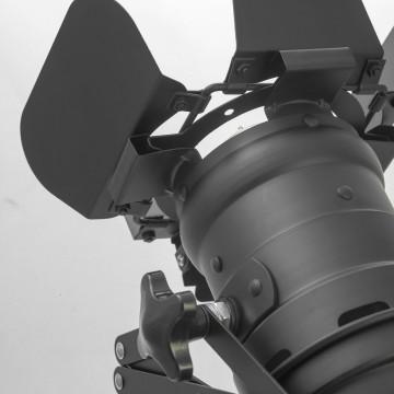 Потолочный светильник с регулировкой направления света на складной штанге Lussole Loft Thornton LSP-9702, IP21, 1xE27x60W, черный, металл - миниатюра 5
