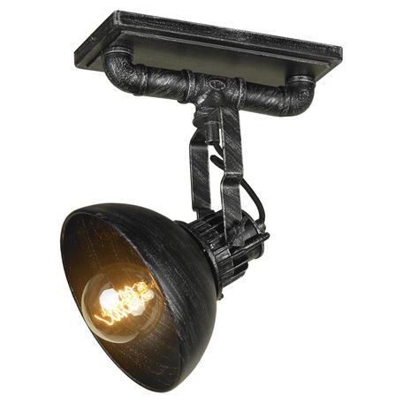 Потолочный светильник с регулировкой направления света Lussole Loft Irondequoit LSP-0300, 1xE27x60W