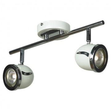 Потолочный светильник с регулировкой направления света Lussole Tivoli LSN-3111-02, IP21, 2xGU10x50W