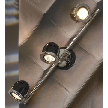 Потолочный светильник с регулировкой направления света Lussole Loft Tivoli LSN-3121-03, IP21, 3xGU10x50W, черный, металл