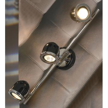 Потолочный светильник с регулировкой направления света Lussole Loft Tivoli LSN-3121-03, IP21, 3xGU10x50W, черный, металл - миниатюра 2