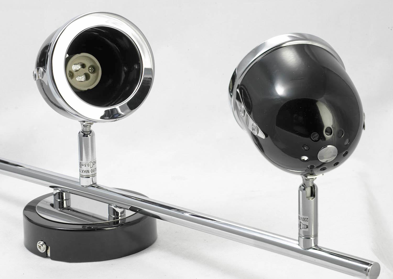 Потолочный светильник с регулировкой направления света Lussole Loft Tivoli LSN-3121-03, IP21, 3xGU10x50W, черный, металл - фото 5