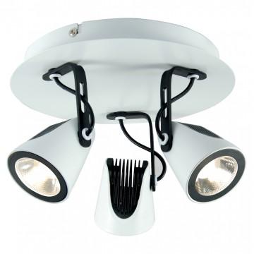 Потолочная люстра с регулировкой направления света Lussole Loft Merano LSN-4101-03 - миниатюра 1