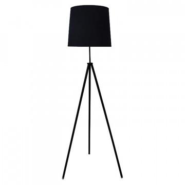 Торшер Lussole LGO Truxton LSP-0501, IP21, 1xE27x60W, черный, металл, текстиль