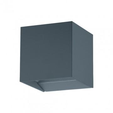 Настенный светодиодный светильник Eglo Calpino Pro 61924, IP54, LED 6,6W, 3000K (теплый), серый, металл