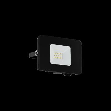 Светодиодный прожектор Eglo Faedo 3 97455, IP65, LED 10W 5000K 900lm, черный, металл, металл со стеклом, стекло