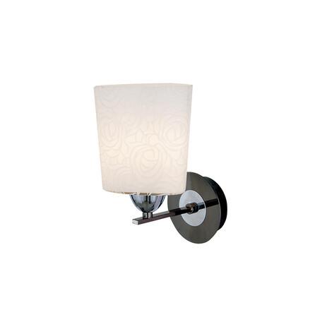 Бра Citilux Лора CL146311, 1xE27x75W, черный, белый, металл, стекло