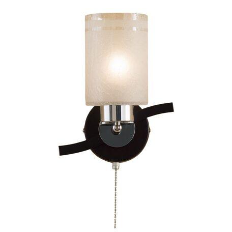 Бра с регулировкой направления света Citilux Фортуна CL156311, 1xE27x75W, венге, белый, металл, стекло