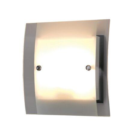 Настенный светильник Citilux Сантона Венго CL210315, 2xG9x40W, венге, хром, белый, прозрачный, металл, стекло