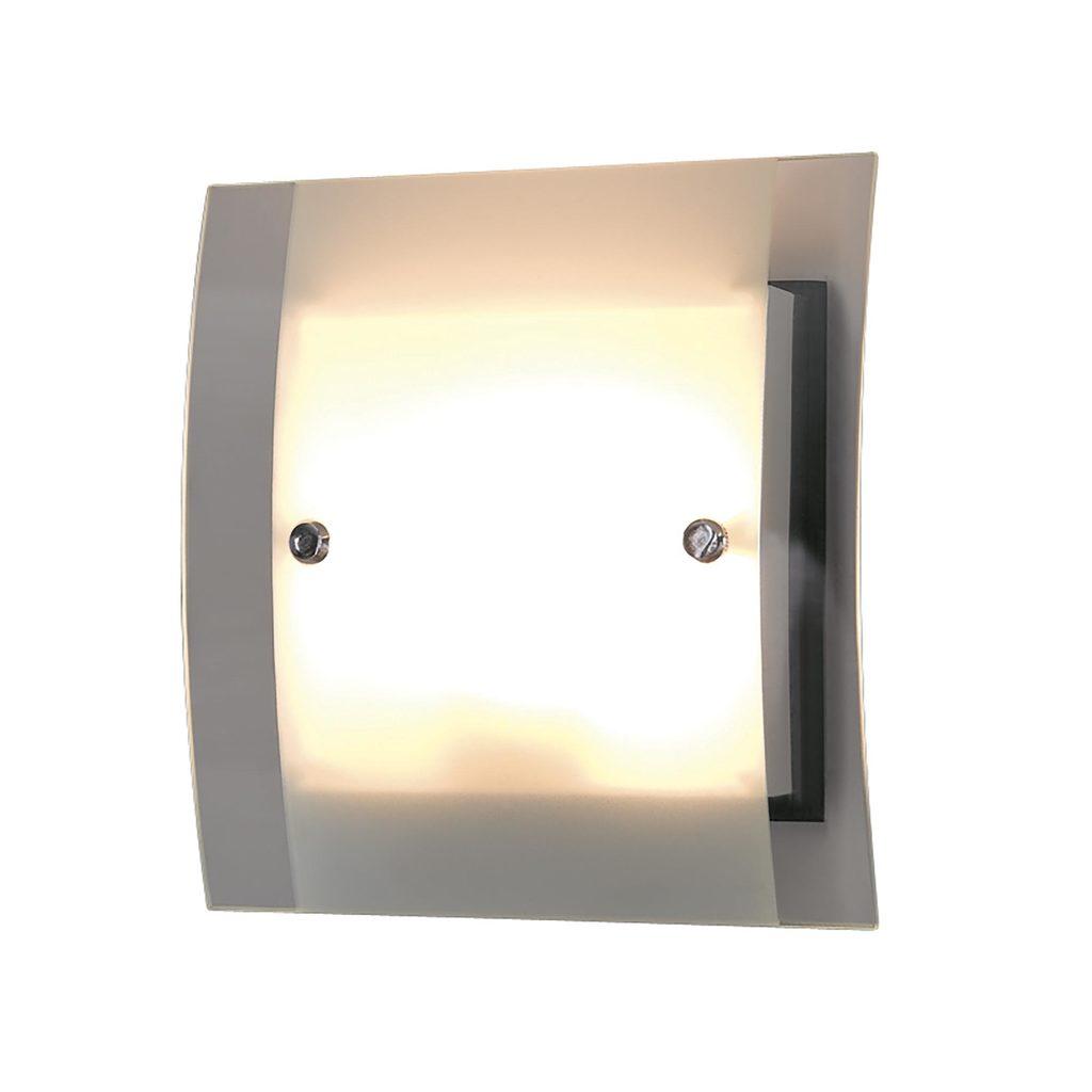 Настенный светильник Citilux Сантона Венго CL210315, 2xG9x40W, венге, хром, белый, прозрачный, металл, стекло - фото 1