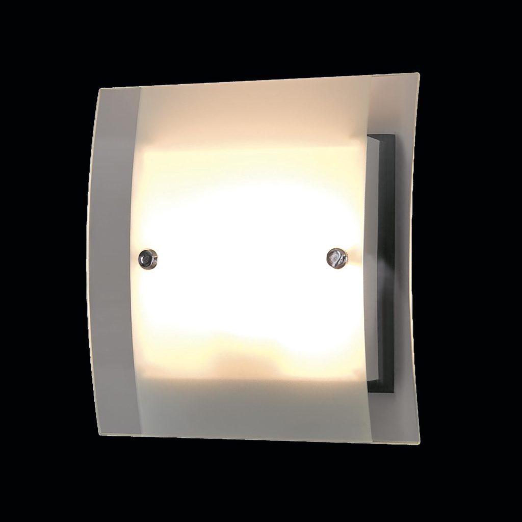 Настенный светильник Citilux Сантона Венго CL210315, 2xG9x40W, венге, хром, белый, прозрачный, металл, стекло - фото 2