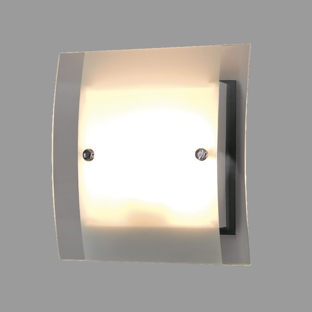 Настенный светильник Citilux Сантона Венго CL210315, 2xG9x40W, венге, хром, белый, прозрачный, металл, стекло - фото 3
