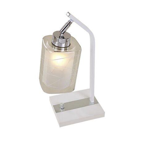 Настольная лампа Citilux Румба CL159810, 1xE27x75W, белый, металл, стекло